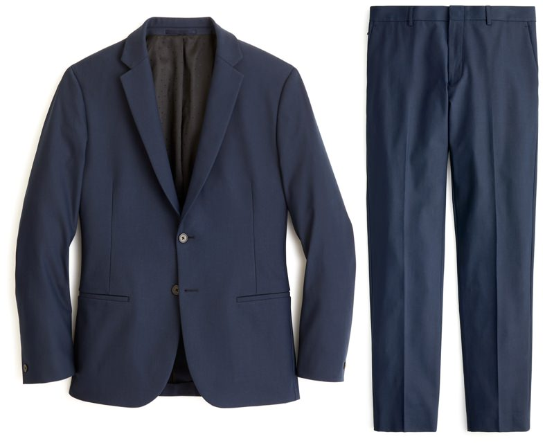 J.Crew Ludlow Destination Stretch Suit