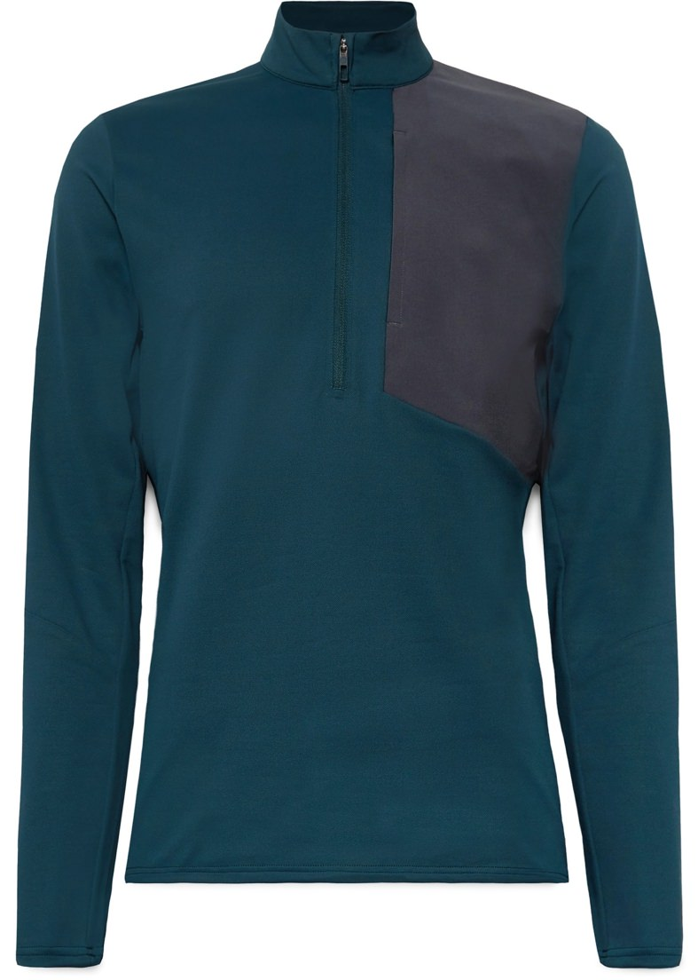 Lululemon Stretch-Pique Half-Zip Top