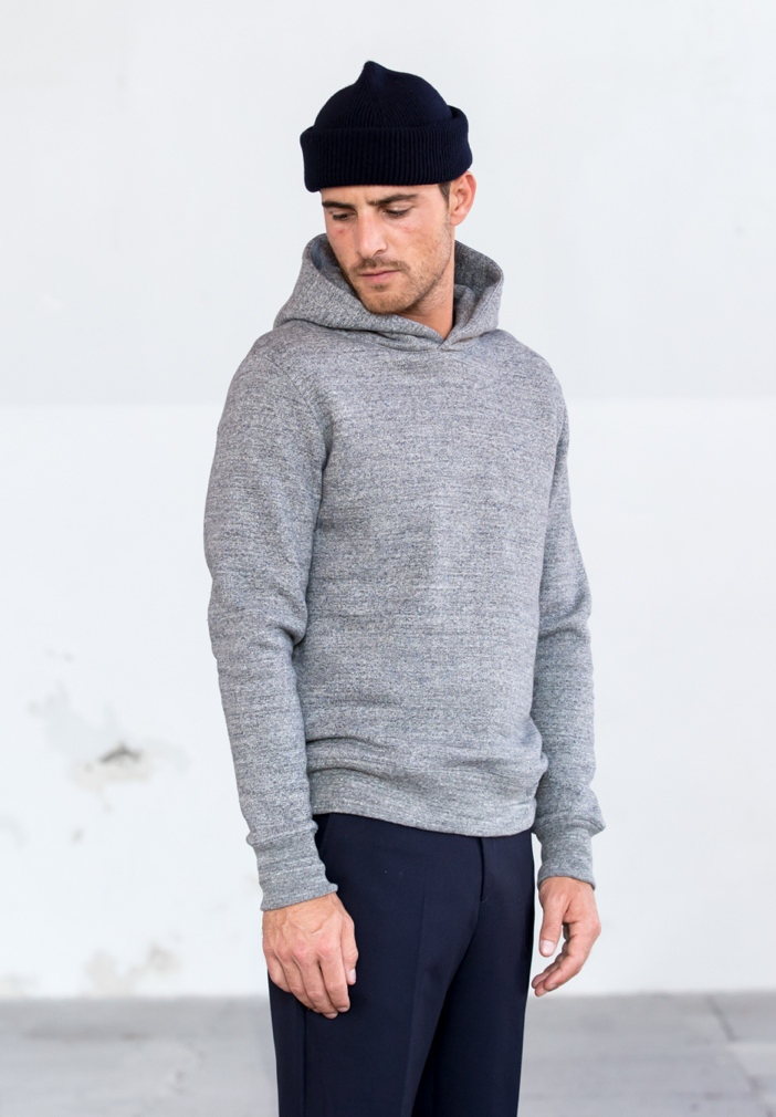 Drapeau Noir Japanese Brushed Fleece Hoodie