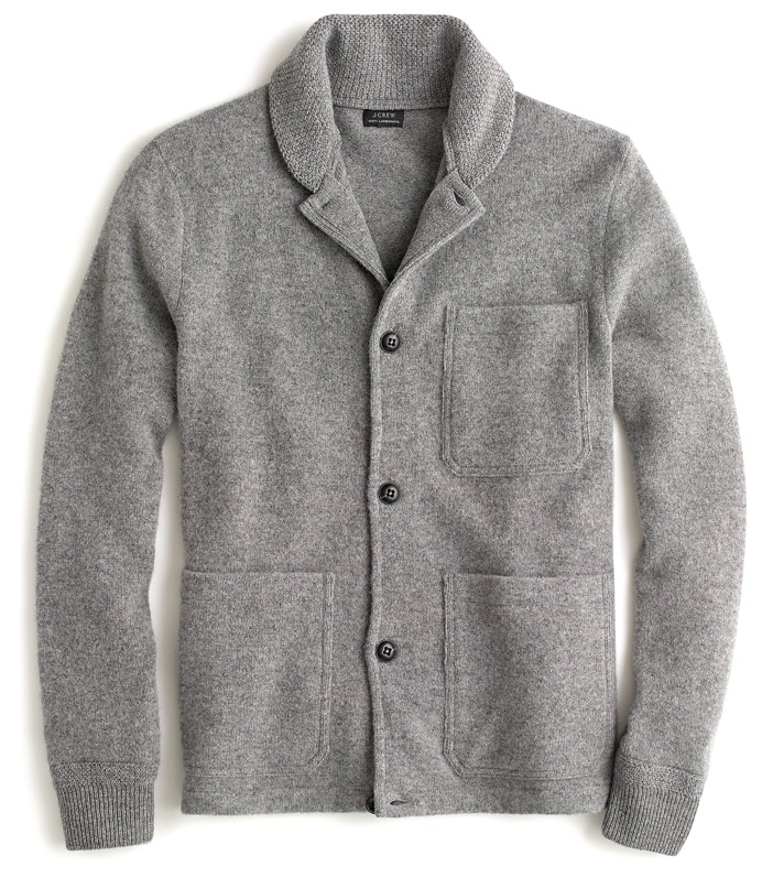 J.Crew Brushed Lambswool Chore Jacket
