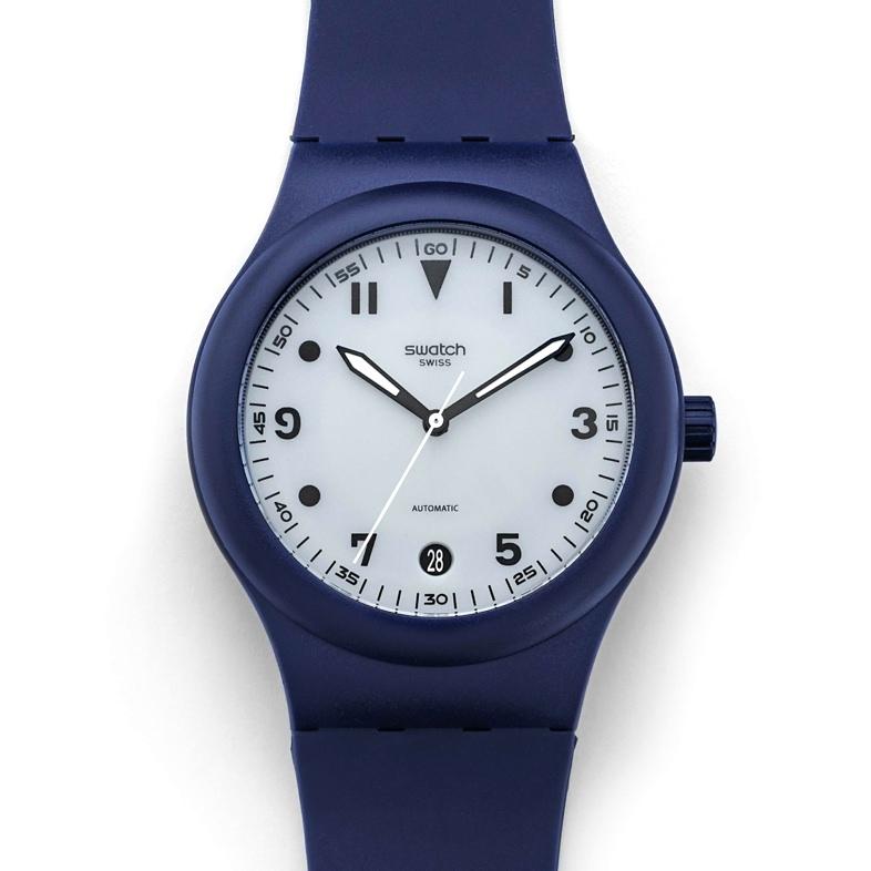 Swatch Sistem51 Blue Edition
