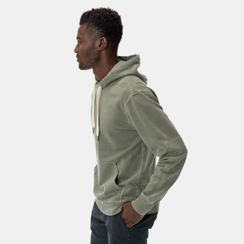 Buck Mason Brush Loopback Hooded Sweatshirt