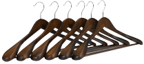 J.S. Hanger Wooden Hangers