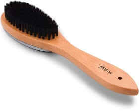 Miscly Boar Bristle Clothes Brush and Lint Remover