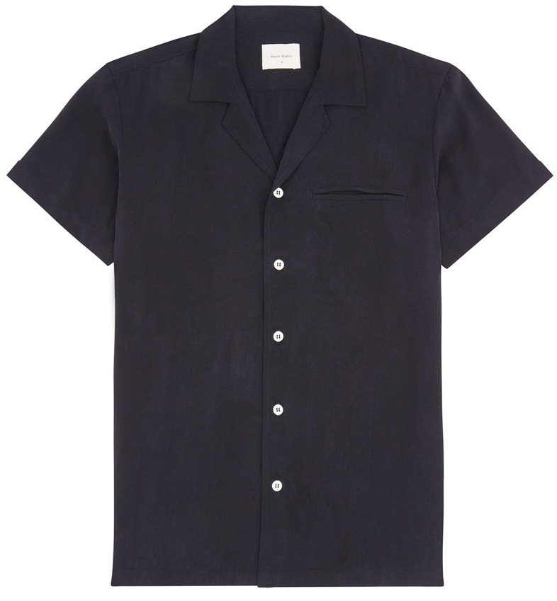 Basic Rights Open Collar Shirt