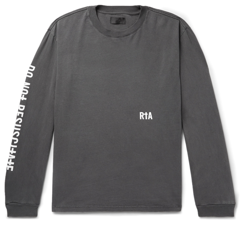 RtA Graphic Long Sleeve T-Shirt