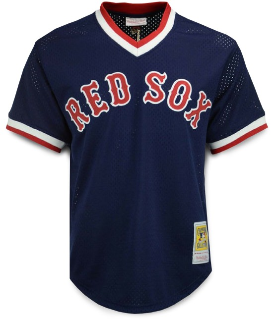 Mitchell & Ness Ted Williams Authentic Mesh BP Jersey