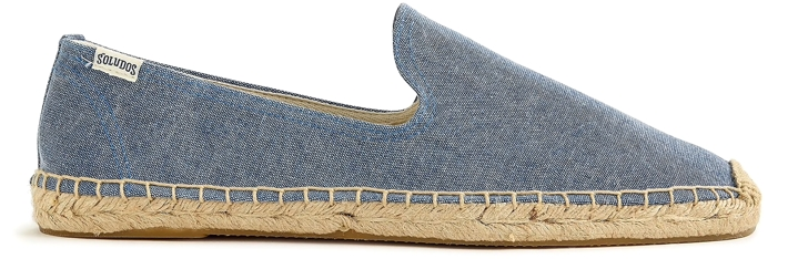 Soludos Canvas Smoking Slipper