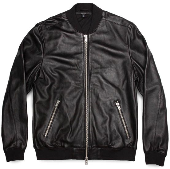 DSTLD Leather Jacket