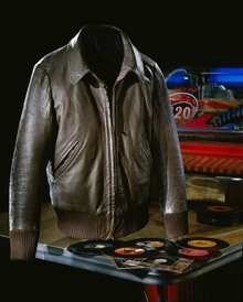 Fonzie Leather Jacket in the Smithsonian Museum of American History
