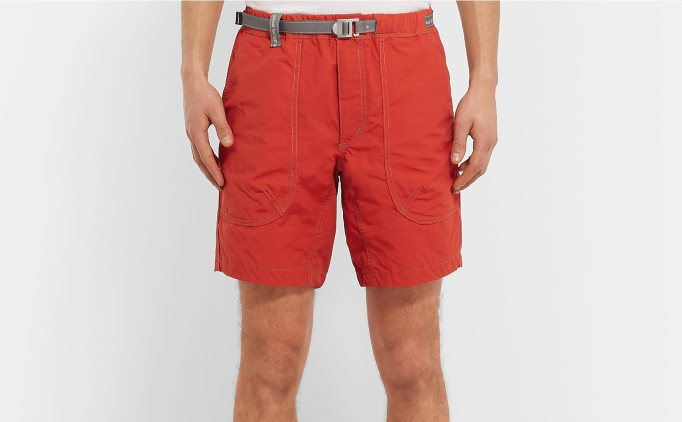 And Wander Nylon Camp Shorts