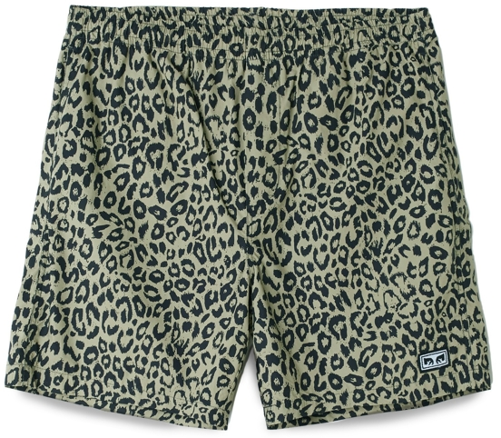 Obey Leopard Easy Shorts