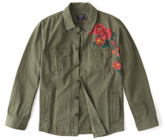 Abercrombie & Fitch Military Shirt