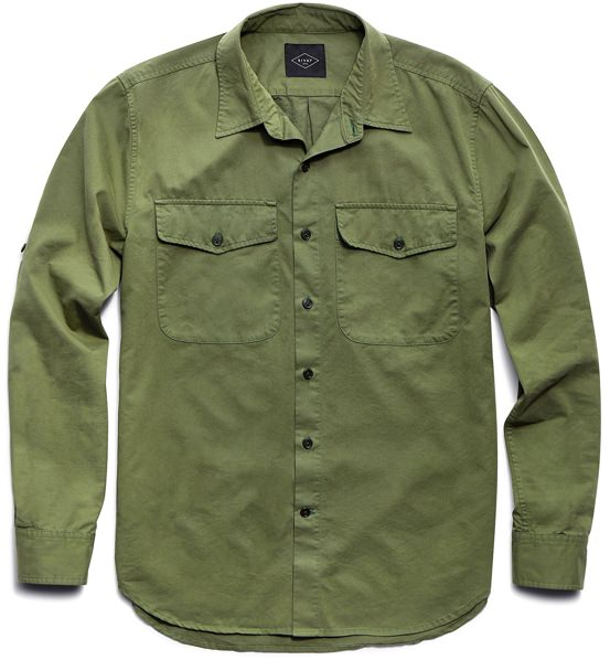Rivay x David Coggins Military Shirt
