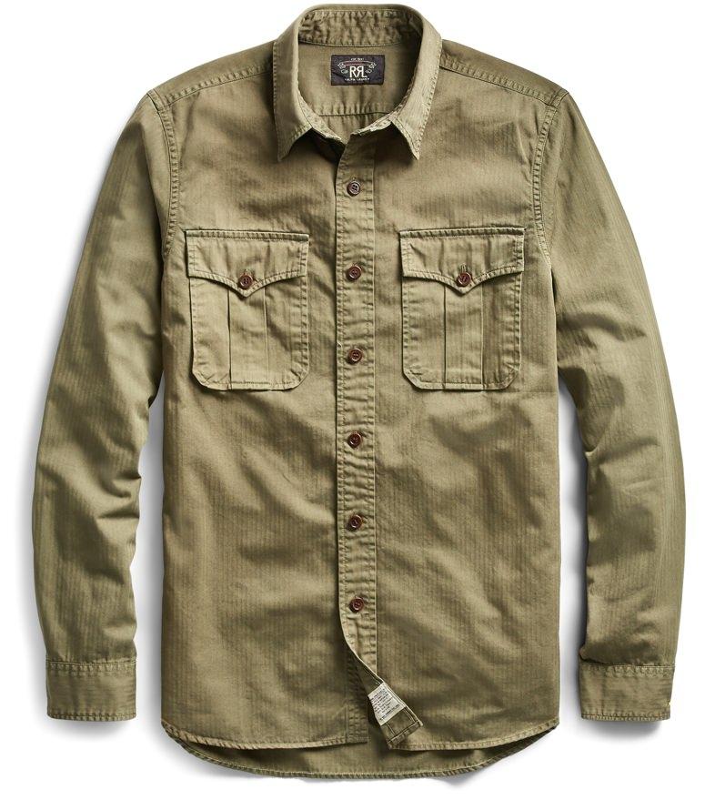 RRL Military Shirt