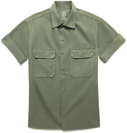 Save Khaki Military Shirt