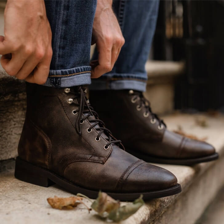 Best men's leather boots for fall