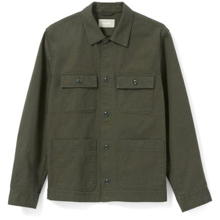 Everlane Washed Cotton Chore Jacket