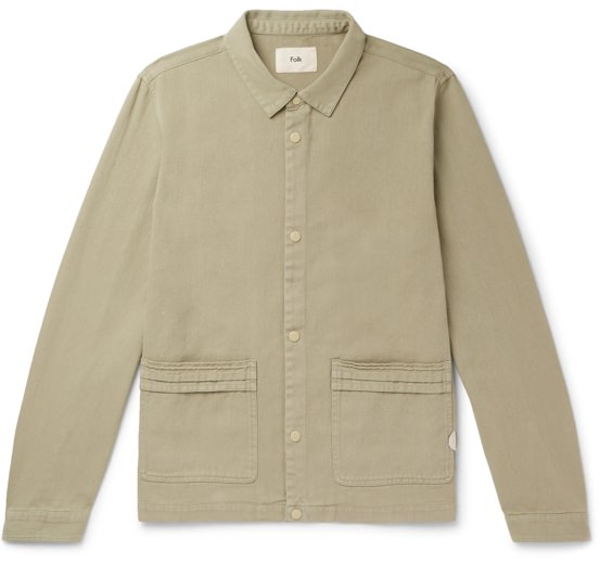 Folk Cotton-Twill Chore Jacket