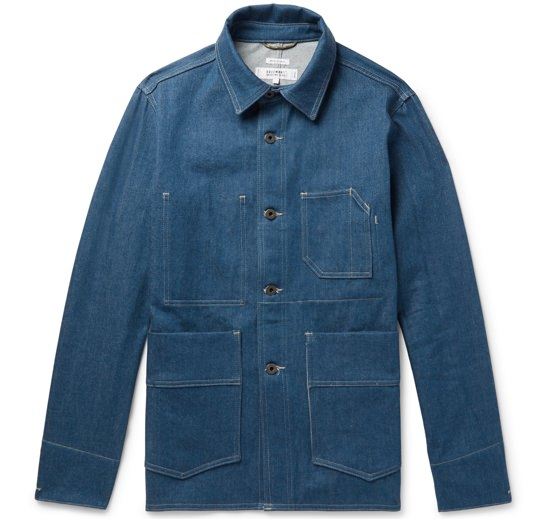 Freemans Sporting Club Indigo-Dyed Chore Jacket