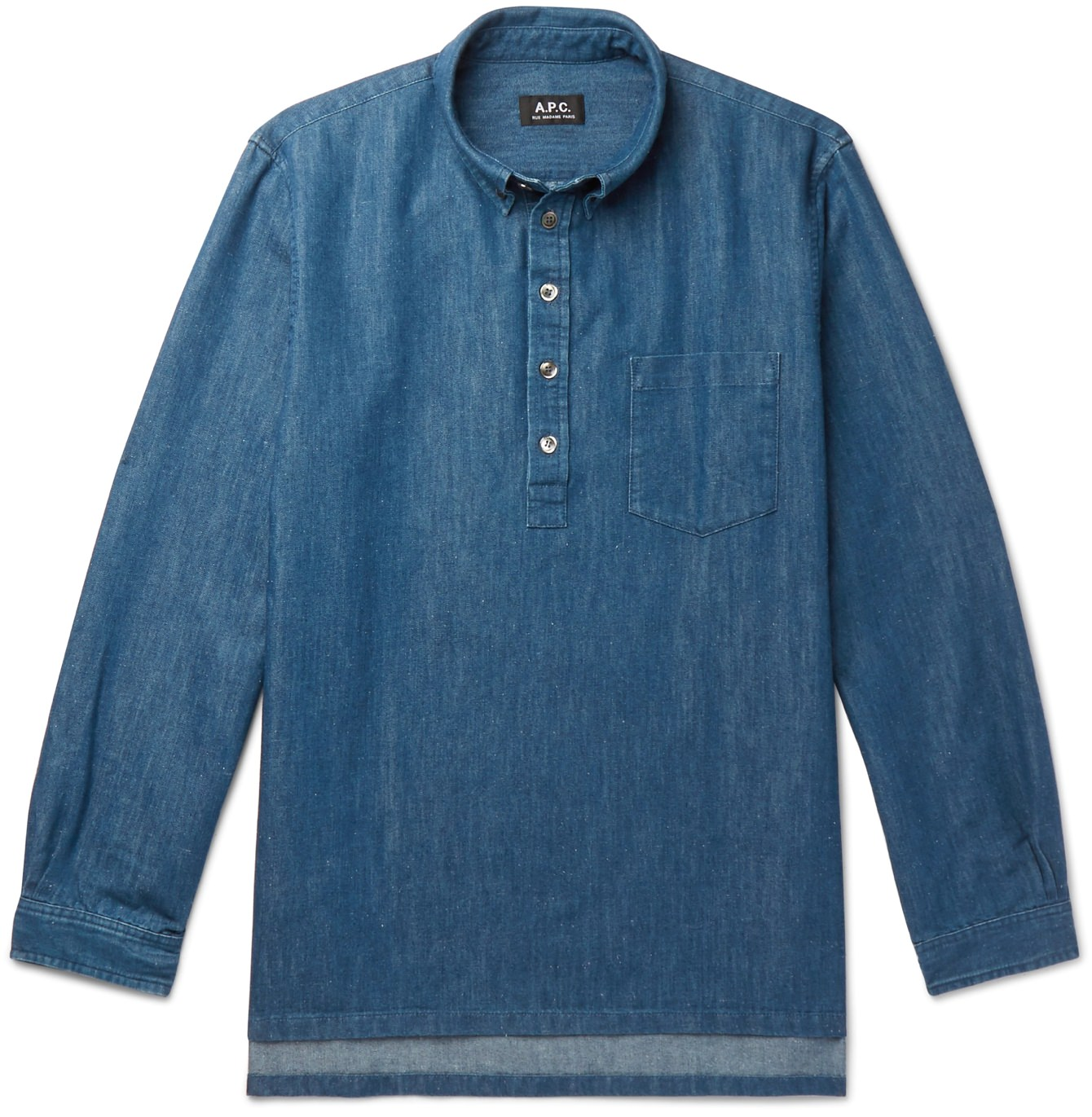 A.P.C. Aldric Button-Down Popover
