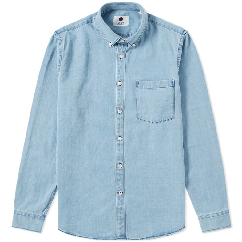 NN07 Falk Denim Shirt