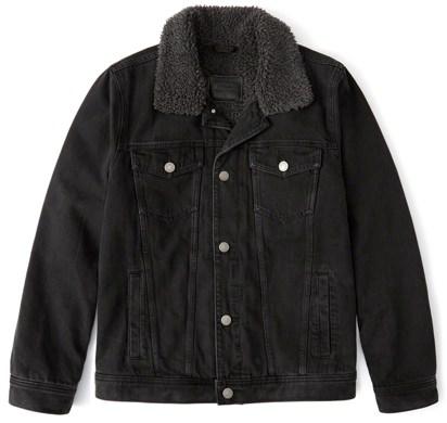 Abercrombie & Fitch Sherpa Jacket