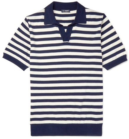 Beams F Knit Polo