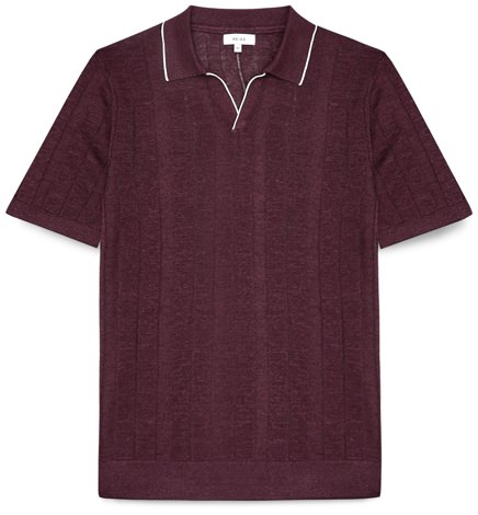 Reiss Knit Polo