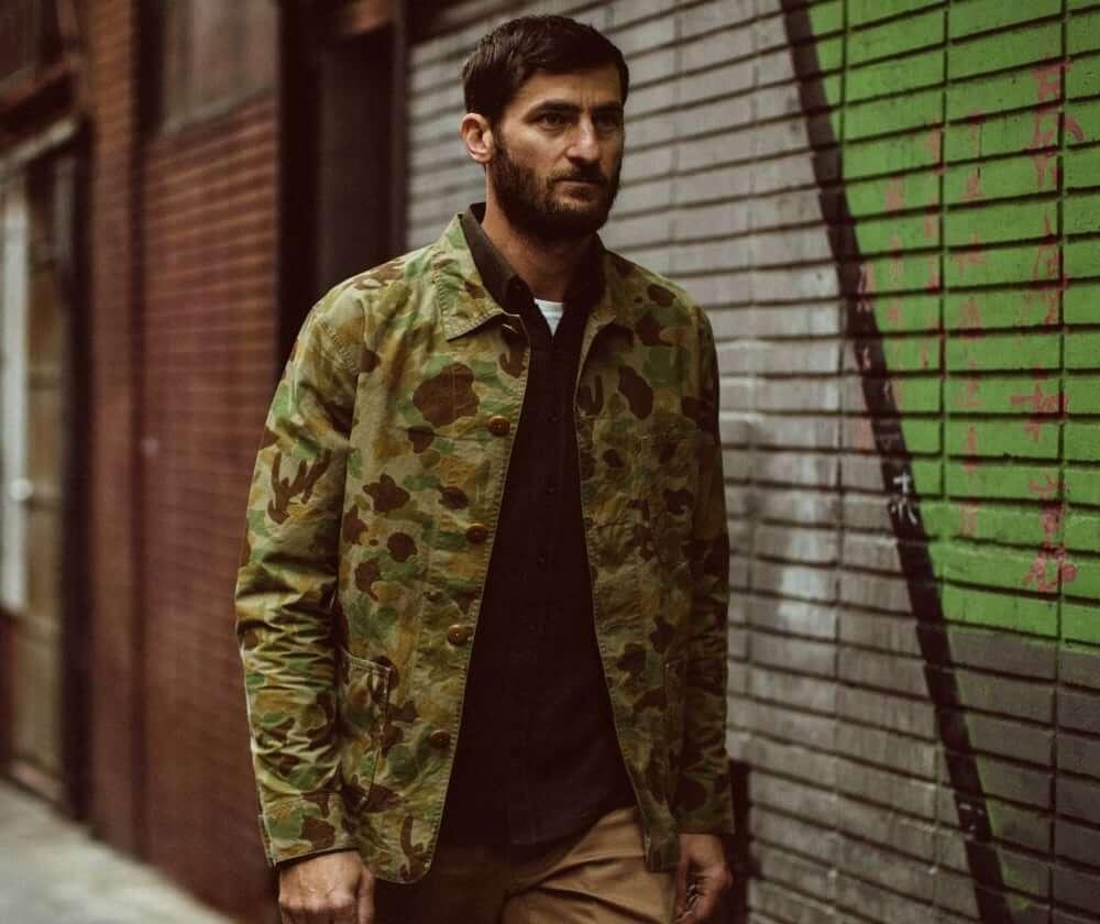 Taylor Stitch men's Ojai camo jacket