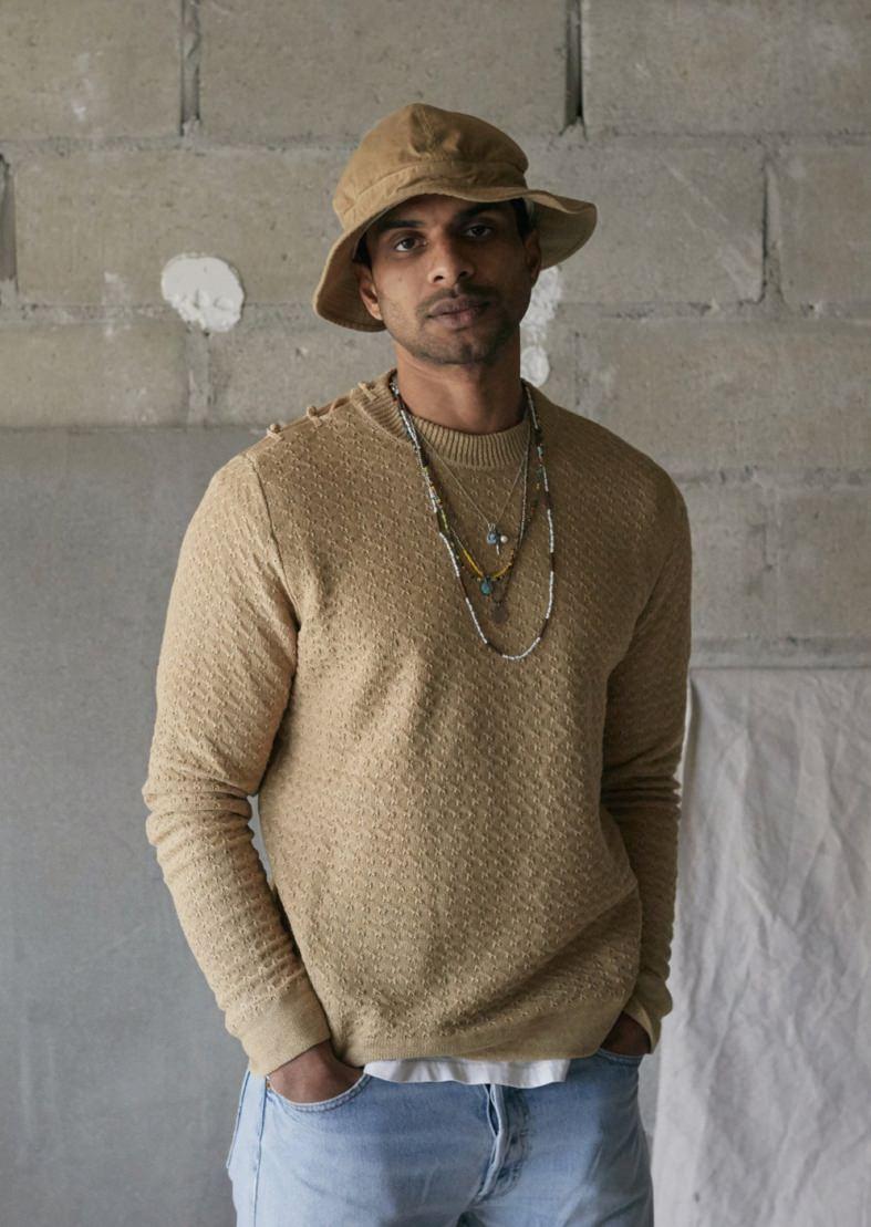 East Mfg. Dihn Hemp Crewneck Sweater