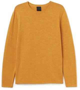 H&M Fine-Knit Cotton Sweater