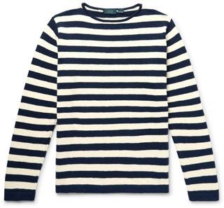 Incotex Striped Cotton Sweater