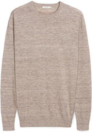 Suitsupply Linen Cotton Crewneck
