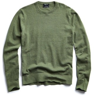Todd Snyder Basketweave Stitched Sweater