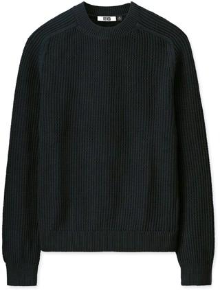 Uniqlo U Textured Cotton Sweater