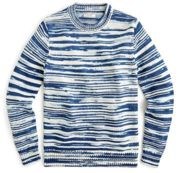 Wallace & Barnes Space-Dyed Crewneck