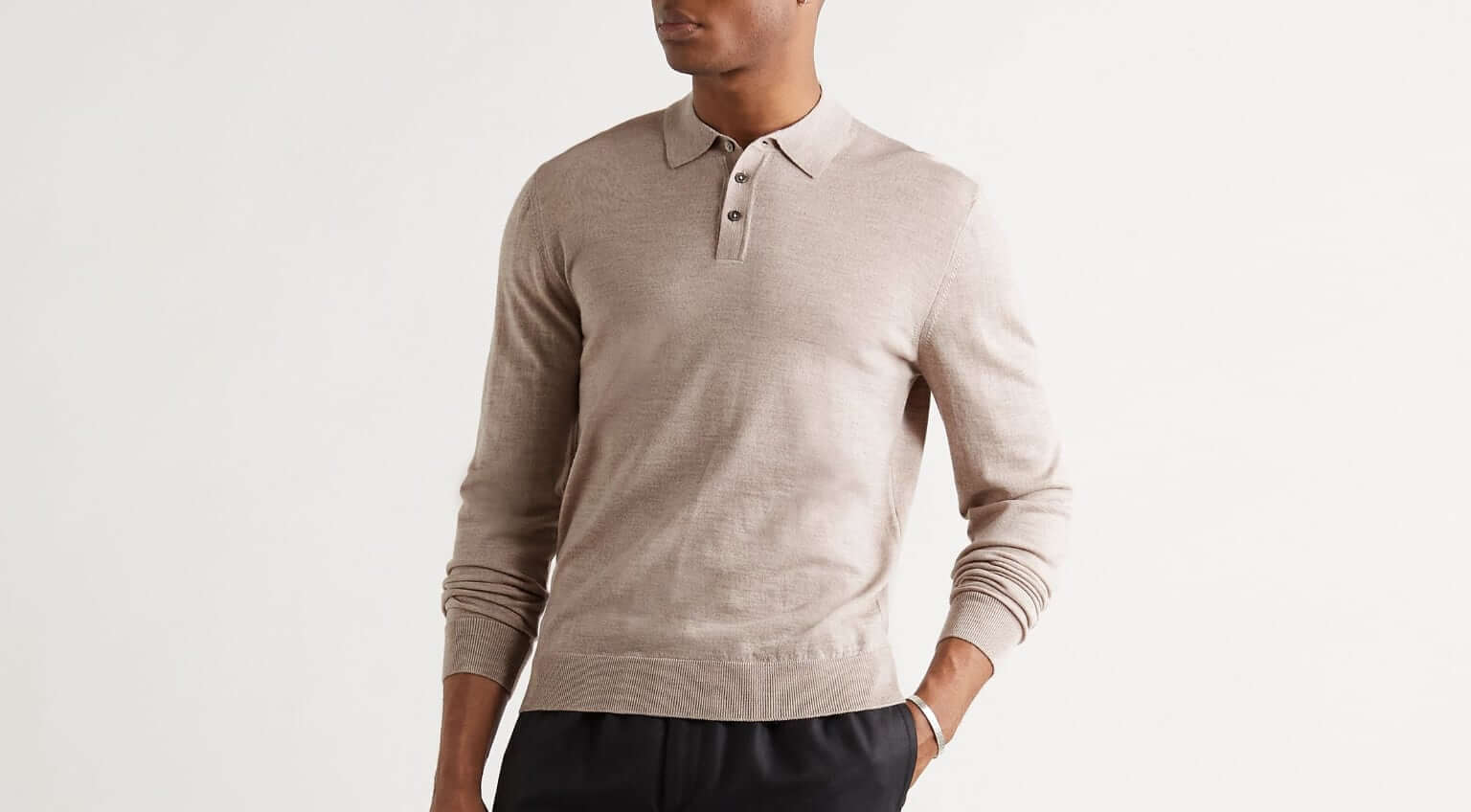 Update Your Wardrobe With a Long-Sleeve Polo