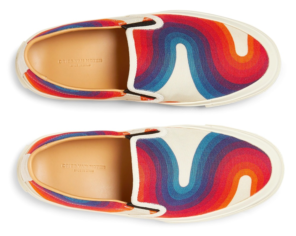 Dries Van Noten Low-Top Slip-On Sneaker