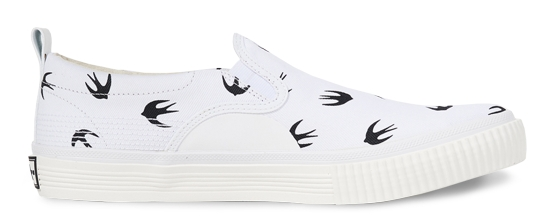 McQ by Alexander McQueen Low-Top Slip-On Sneaker