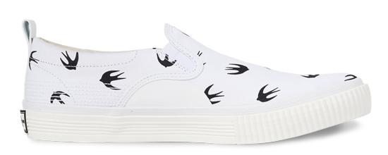McQ by Alexander McQueen Low-Top Slip-On Sneaker