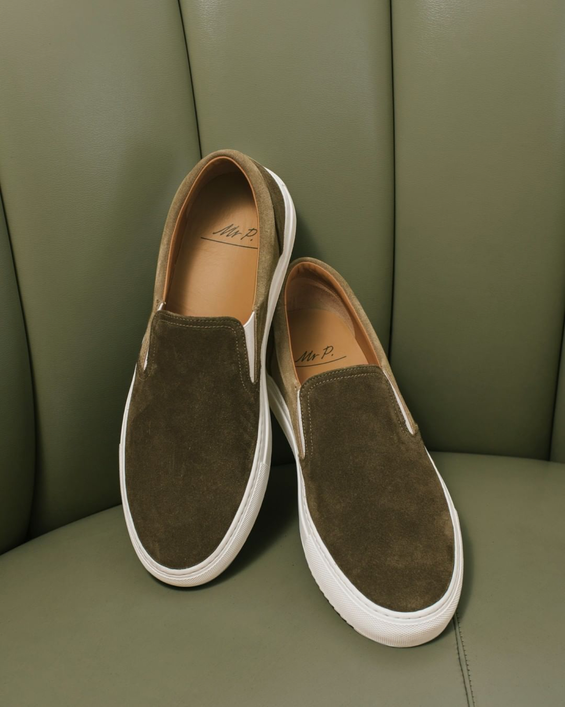 Mr P. Low-Top Slip-On Sneaker
