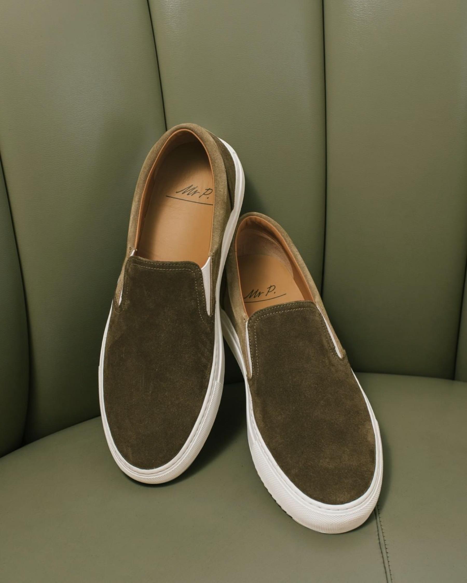 Mr P. Low-Top Slip-On Sneaker