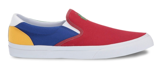 Polo Ralph Lauren Low-Top Slip-On Sneaker