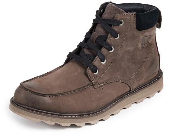 Sorel Waterproof Moc-Toe Boots