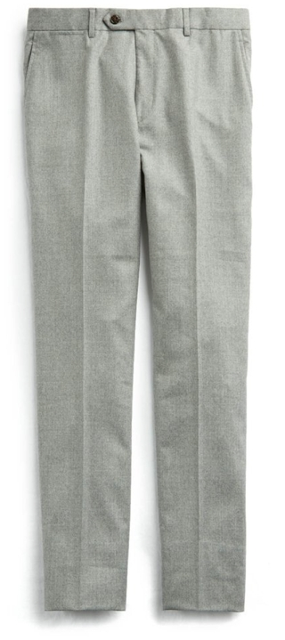 Todd Snyder Stretch Wool Tab-Front Trousers