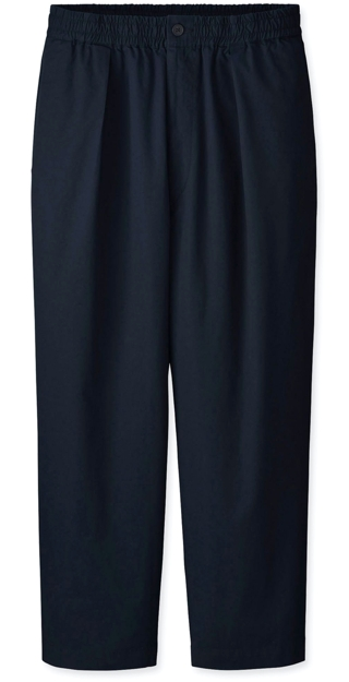 Uniqlo U Relaxed Single-Pleat Tapered Pants