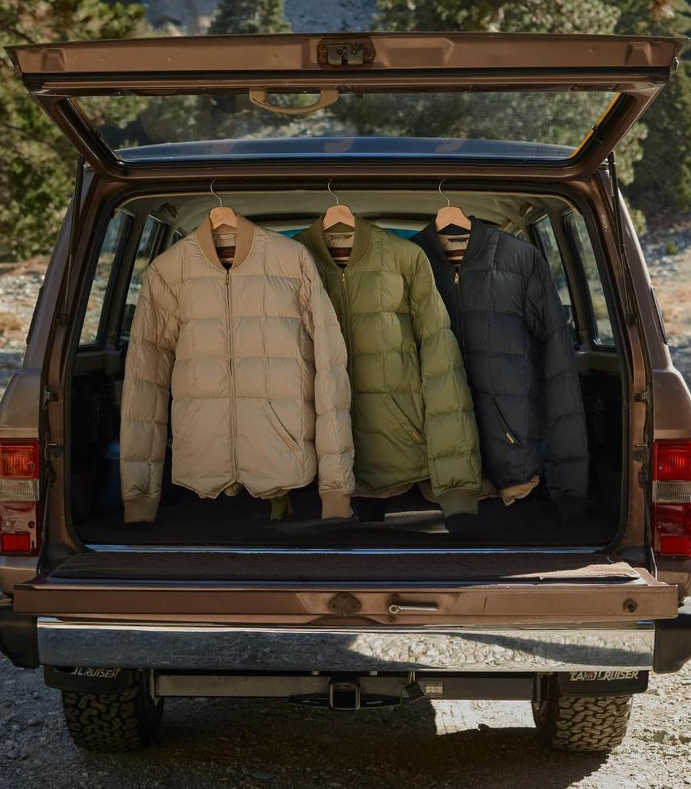 JJJJound x Eddie Bauer Skyliner Jacket