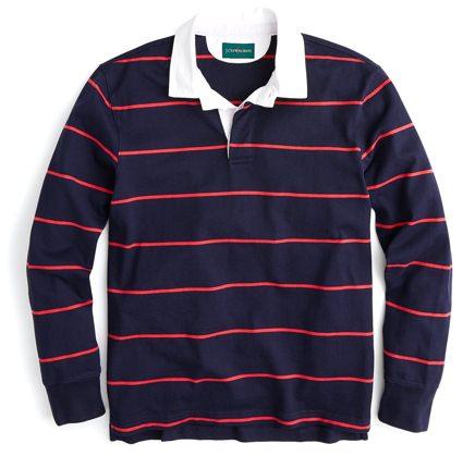 J.Crew rugby shirt