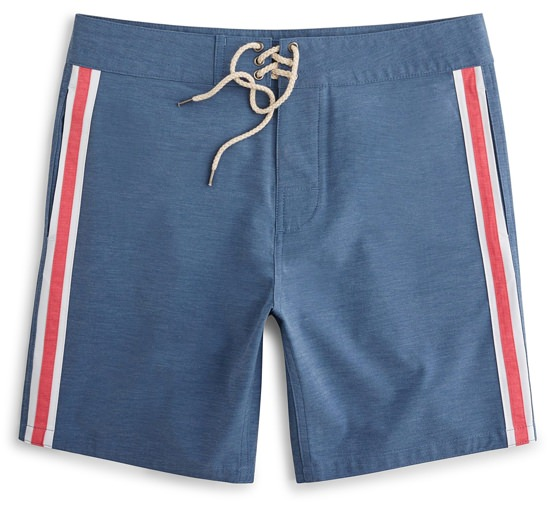 Faherty Surf Strip Board Short
